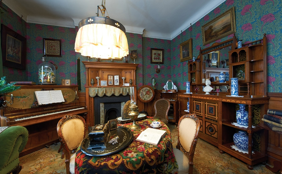 Top ten Victorian interiors Bradford Industrial Museum Parlour Drawing Room