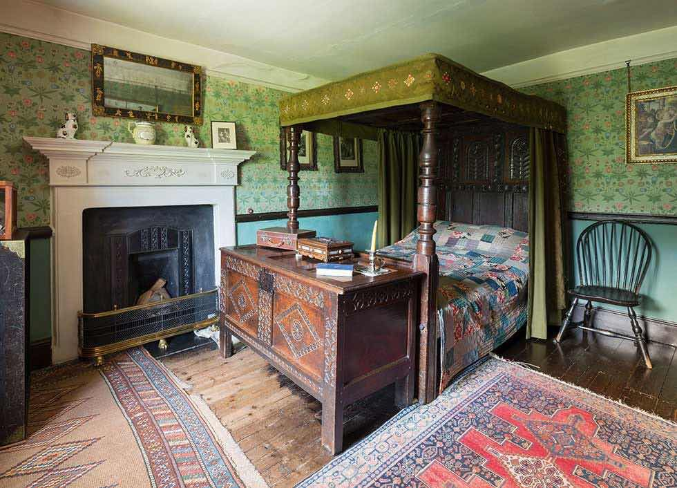 Top ten Victorian interiors Beatrix Potter bedroom Hill Top Lake District