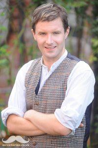 Mr Victorian Peter Saunders. Visit www.mrvictorian.co.uk