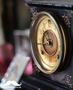 Victorian slate mantlepiece clock Mr Victorian