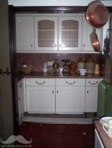 Victorian pantry before