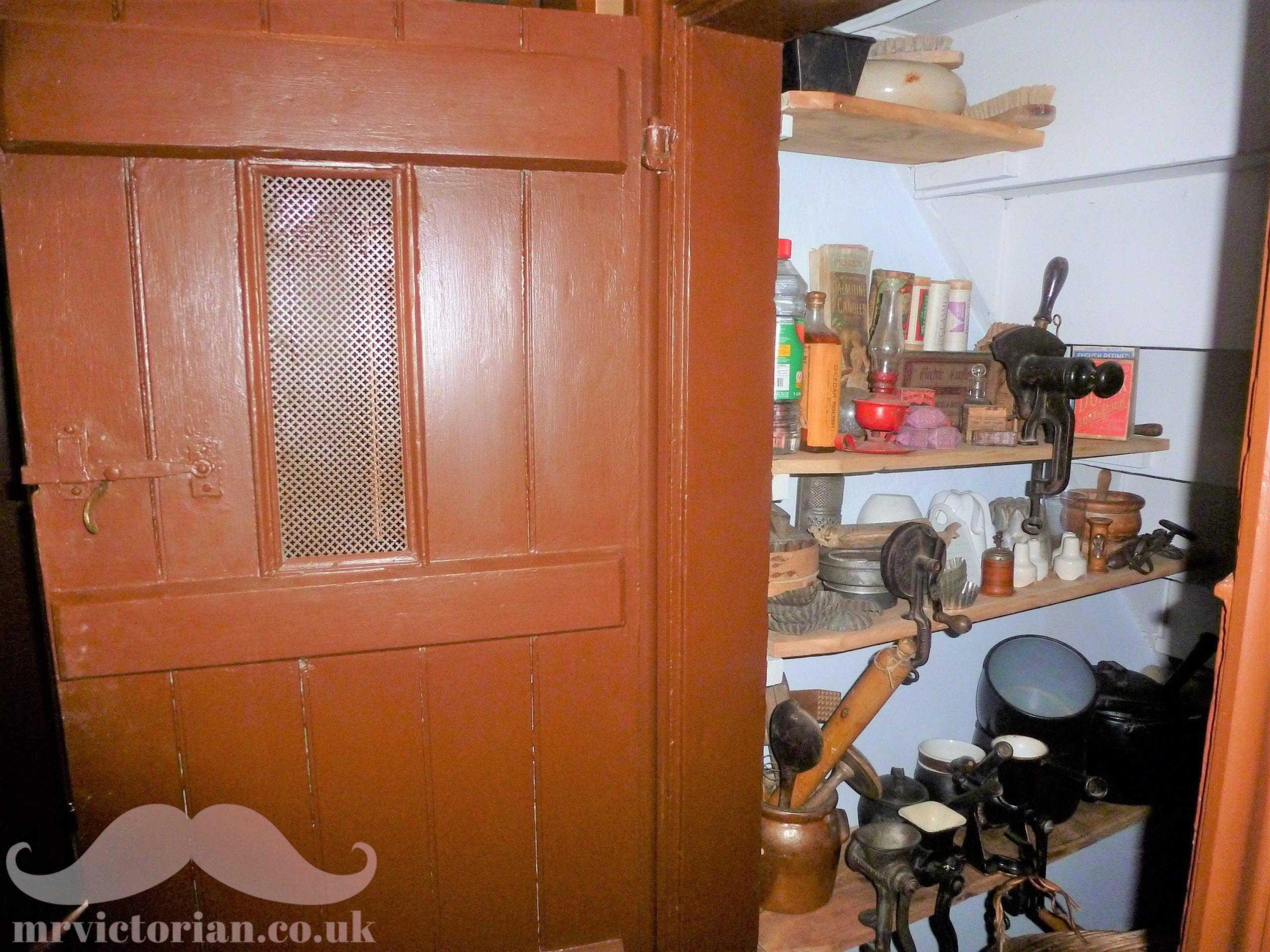Understairs Victorian pantry pr larder