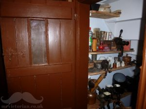 Victorian pantry understairs cupboard