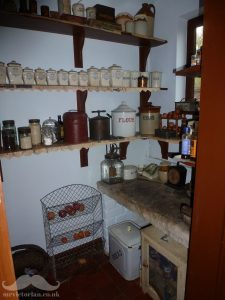 Victorian pantry cold slab