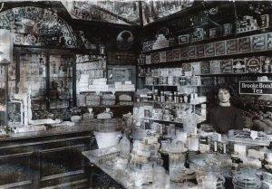Victorian shop interior