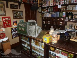 1920s vintage grocery shop