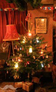 Victorian Christmas tree fairy illumination lamps