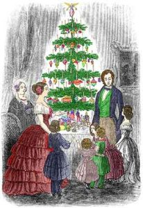 Queen Victoria Christmas tree Prince Albert