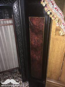 Victorian parlour marbled slate surround marbleised marbleized