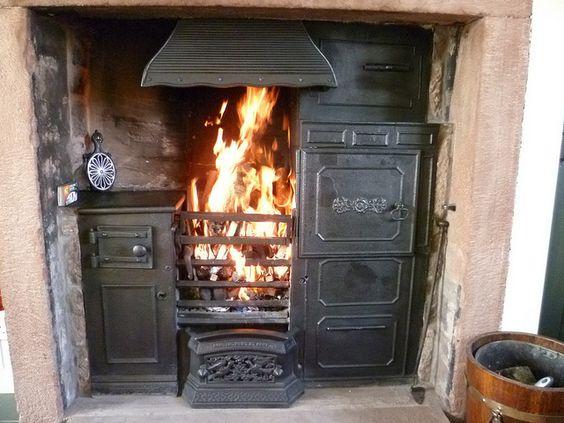 Yorkshire cast iron range