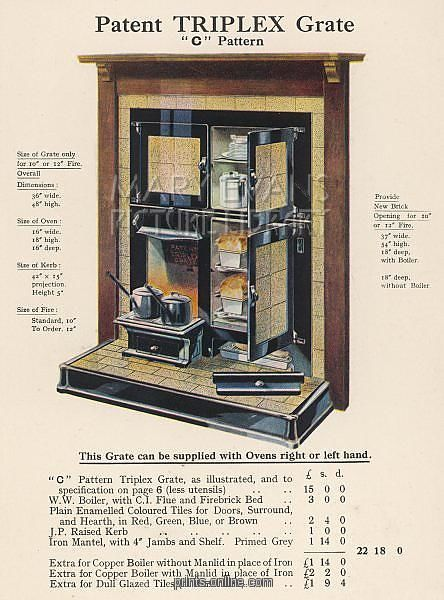 Combination Simplex enamelled range 1930s